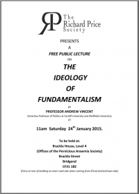 The Ideology of Fundamentalism @ the Pernicious Anaemia Society Offices